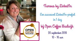 LinkedIn bij Open Coffee Waalwijk