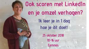 LinkedIn training 25-10-2018