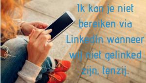 bereikbaarheid via LinkedIn