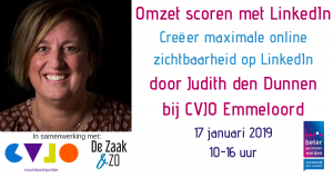 Linkedin Training 17-1-2019 Emmeloord