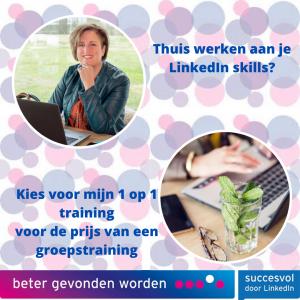 Online 1-op-1 LinkedIn training
